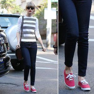 Red Taylor Swift Keds Size 9